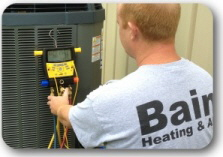 Bain air conditioning maintenance uses the latest technology